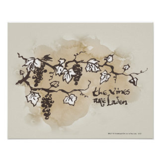 The Vines Are Laden Poster