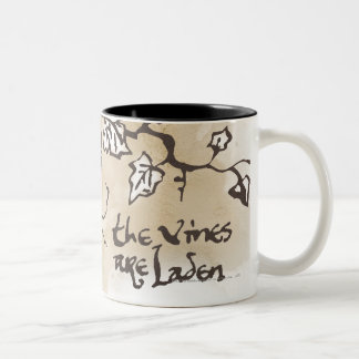 The Vines Are Laden Two-Tone Coffee Mug