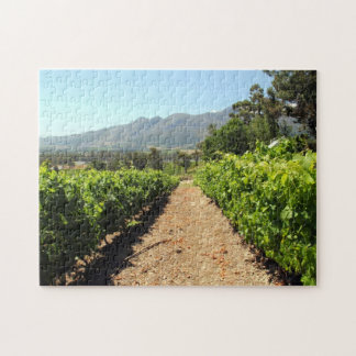 The Vineyards in Franschhoek, South Africa Jigsaw Puzzles