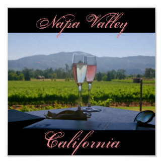The Vineyards of Napa Valley Print
