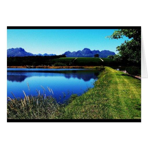 """The Vineyards of Stellenbosch"" JTG Art Card"