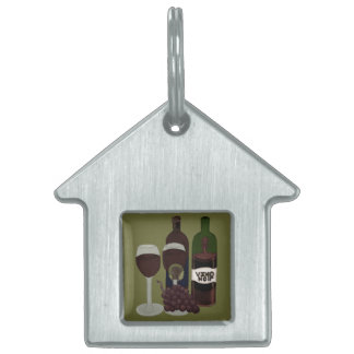 The Vino Vixen - (The Beauty in the Bottle) Pet Name Tag
