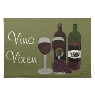 The Vino Vixen - (The Beauty in the Bottle) Placemat