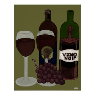 The Vino Vixen - (The Beauty in the Bottle) Poster