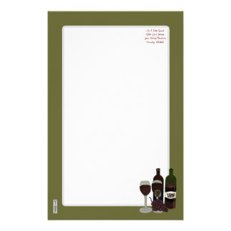 The Vino Vixen - (The Beauty in the Bottle) Stationery