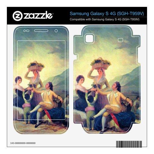 The Vintage by Francisco de Goya Samsung Galaxy S 4G Skins