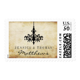 The Vintage Chandelier Wedding Collection Postage