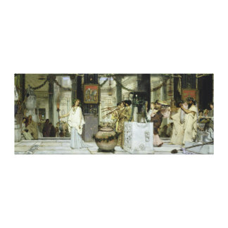 The Vintage Festival in Ancient Rome 1871 Gallery Wrap Canvas
