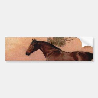 The Vintage Horse Bumper Sticker