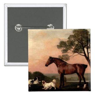 The Vintage Horse Button