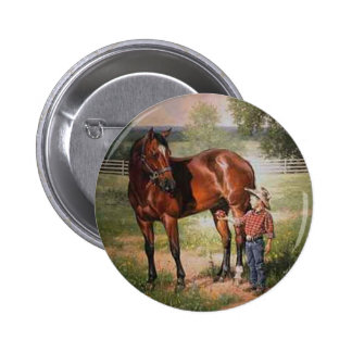 The Vintage Horse Buttons