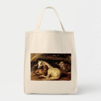 The Vintage Horse Canvas Bags