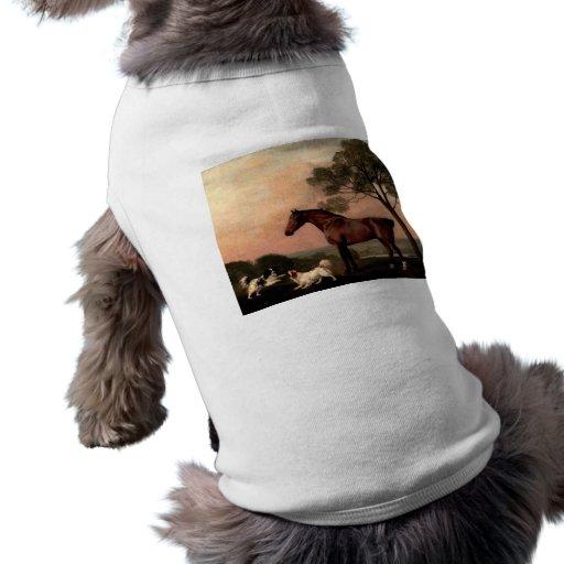 The Vintage Horse Doggie Tee