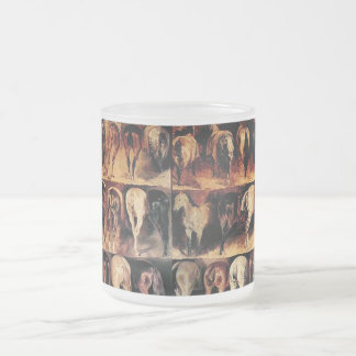 The Vintage Horse Frosted Glass Coffee Mug