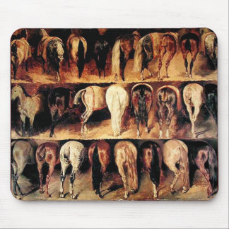 The Vintage Horse Mouse Pad
