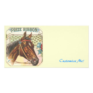 *The Vintage Horse* Photo Greeting Card