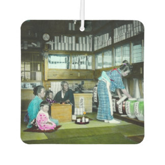 The Vintage Japanese Tea Merchant Old Japan Car Air Freshener