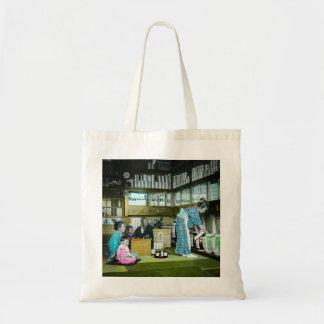 The Vintage Japanese Tea Merchant Old Japan Tote Bag