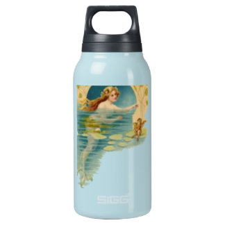 The Vintage Mermaid Liberty Insulated Water Bottle