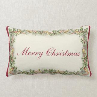The Vintage Merry Christmas Rectangular Pillow