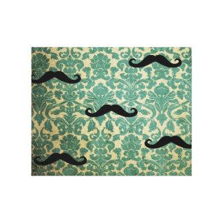 The Vintage Mustache Canvas Print