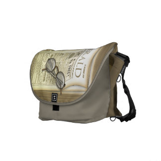 The Vintage Newspaper Courier Bags