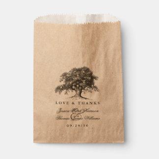 The Vintage Old Oak Tree Wedding Collection Favor Bag
