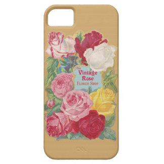 The Vintage Rose Flower Shop iPhone 5 Cases