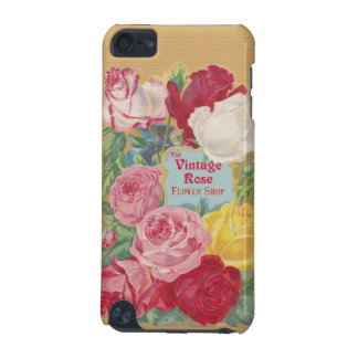 The Vintage Rose Flower Shop Sign iPod Touch (5th Generation) Cover