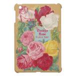 The Vintage Rose Flower Shop Sign iPad Mini Cases