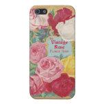 The Vintage Rose Flower Shop Sign Cases For iPhone 5