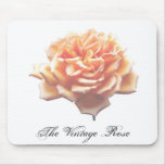 The Vintage Rose Mouse Pads