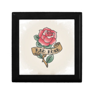 The Vintage Rose Tattoo Gift Ideas Jewelry Box