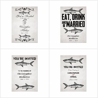 The Vintage Shark Beach Wedding Collection