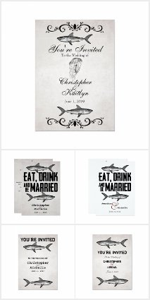 The Vintage Shark Beach Wedding Collection
