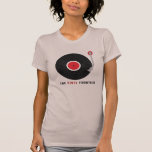 The Vinyl Frontier T-shirt, women's style