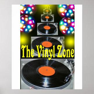 The Vinyl Zone Poster. Poster