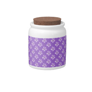 The Violet Candy Sugar Jar Candy Dishes