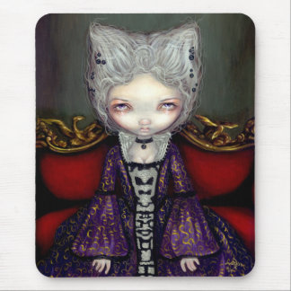 The Violet Duchess gothic rococo Mousepad