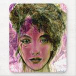"""""""The Violet Warrior"""" Portrait Mousepads"""