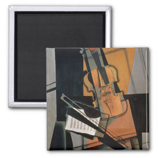 The Violin, 1916 2 Inch Square Magnet