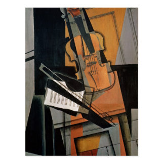 The Violin, 1916 Postcard