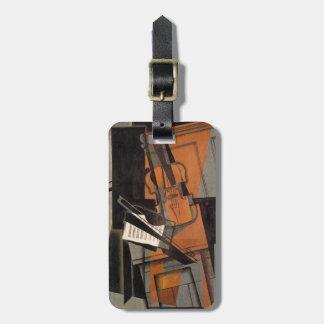 The violin ~ 1916 ~Synthetic Cubism ~Juan Gris Bag Tag