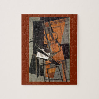 The violin ~ 1916 ~Synthetic Cubism ~Juan Gris Jigsaw Puzzle