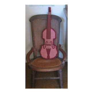 The Violin And The Rocking Chair Card