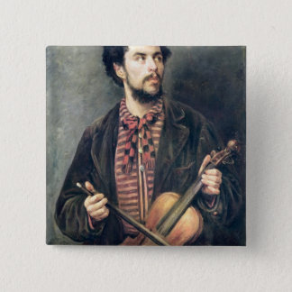 The Violin Player Button