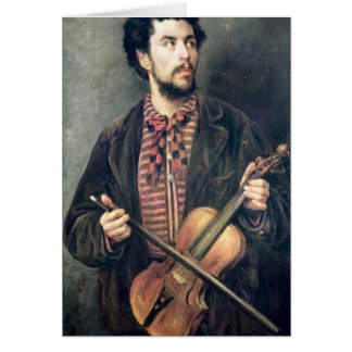 The Violin Player Card