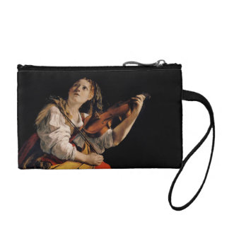 The Violin Player Coin Wallet
