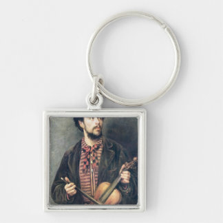 The Violin Player Keychain