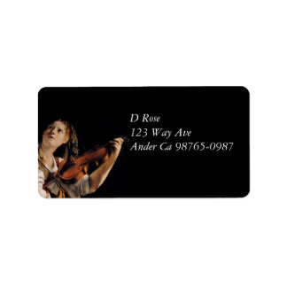 The Violin Player Label